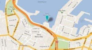 map of Z-pier