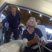 Simulator visit by Prince Harry